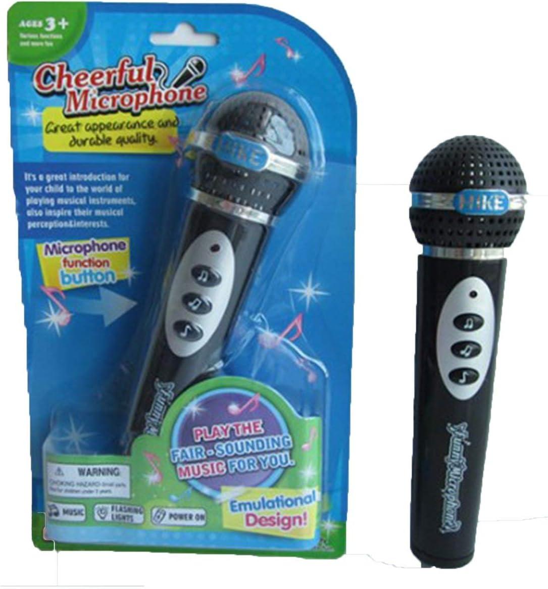 Lustiges Musikspielzeug Schwarzes Musikbabyspielzeug für Kindermikrofon-Gesang