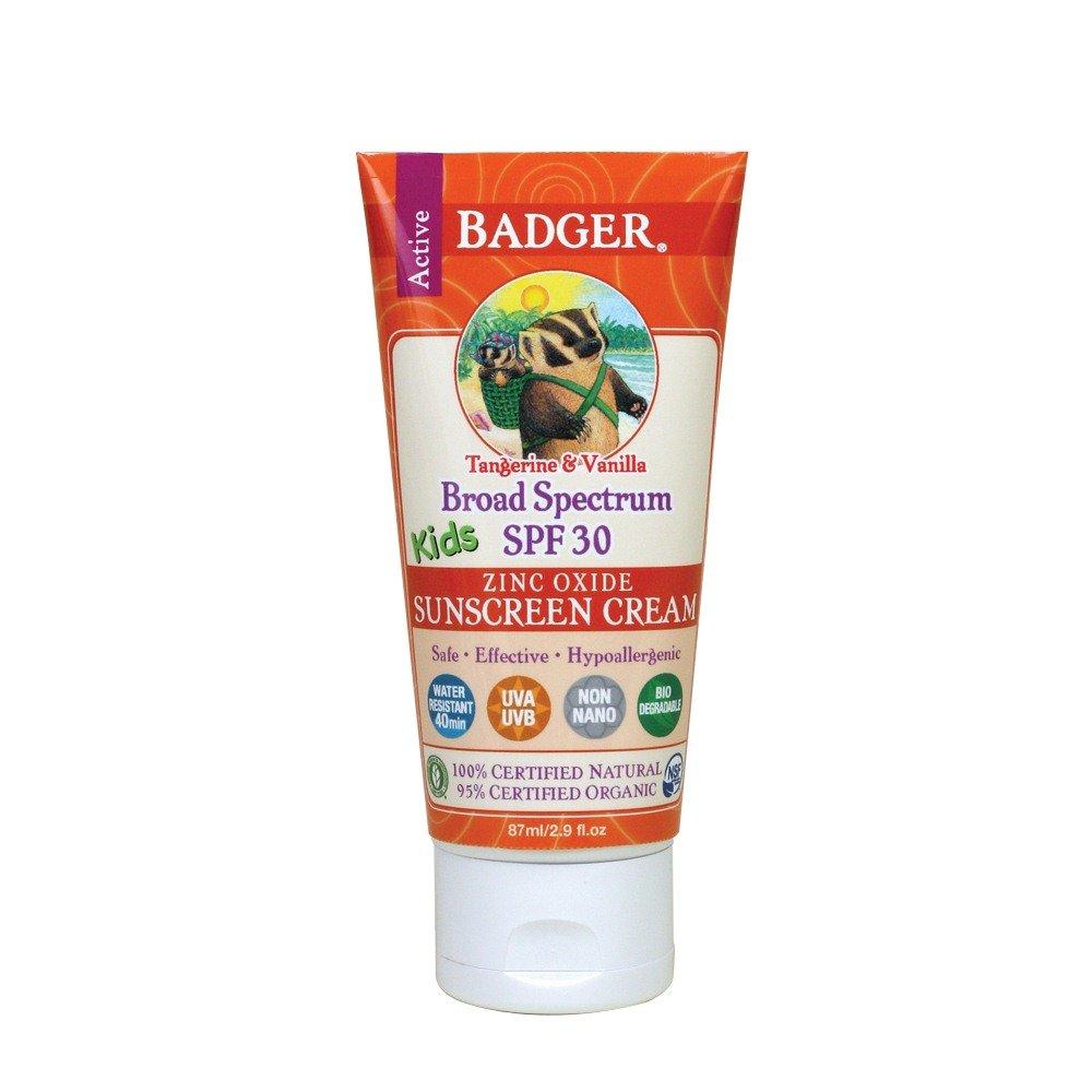 Badger Balm SPF 30 Kids Sunscreen Cream, 2.9 Ounce Quidsi Active