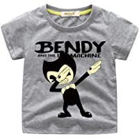 FINDPITAYA Bendy Camiseta Niño Gris