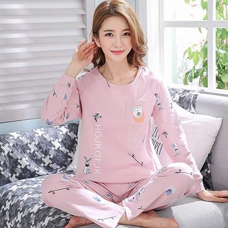Conjunto de Pijamas de Mujer Pijamas de Dibujos Animados ...
