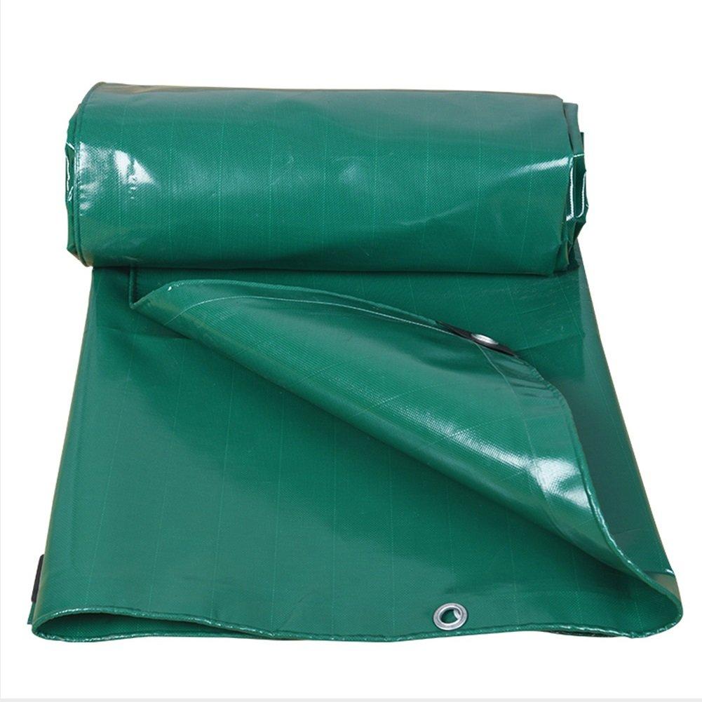 DNSJB Telo Impermeabile Doppio Strato Doppio Resistente all'Usura 500 g   m2 per tettuccio di Allevamento verde (Dimensioni   3x3m)