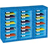 Really Good Stuff Store More Classroom Mail Center- 27 Slot Swirl Star Design