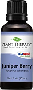 Plant Therapy Juniper Berry Organic Essential Oil 30 mL (1 oz) 100% Pure, Undiluted, Therapeutic Grade