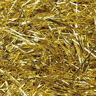 10 Grams Metallic Gold Shredded Paper Hamper Shred Box Packaging Filler Fill