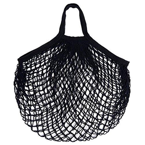 LtrottedJ Mesh Net Turtle Bag String Shopping Bag Reusable Fruit Storage Handbag Totes New (Small Dish Clip Mesh)