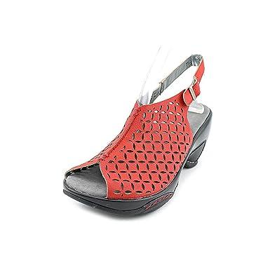 Jambu Escarpins pour Femme - Rouge - Red, 42 2/3