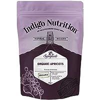 Indigo Herbs Albaricoques Deshidratados Enteros Orgánicos 250g (Sin