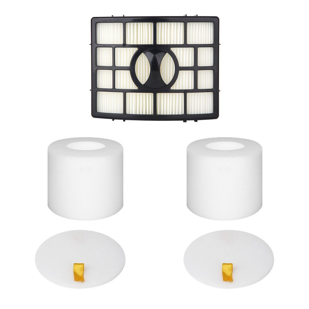 Yonice Replacement Filters for Shark Rotator APEX DuoClean Powered Lift-Away Vacuum NV650, NV651, NV652, NV750, NV751, NV752, NV753, AX950, AX951, AX952, XFF650 & XHF650 1 HEPA + 2 Foam Felt Filters