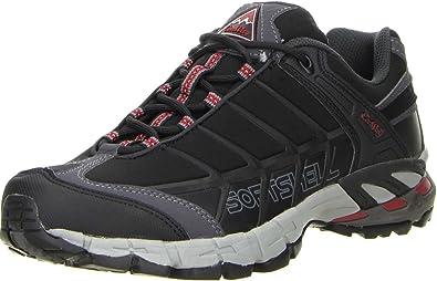 ConWay Berg Wander Trekking Outdoor Arbeitsschuhe schwarz, Größe:41;Farbe:Schwarz