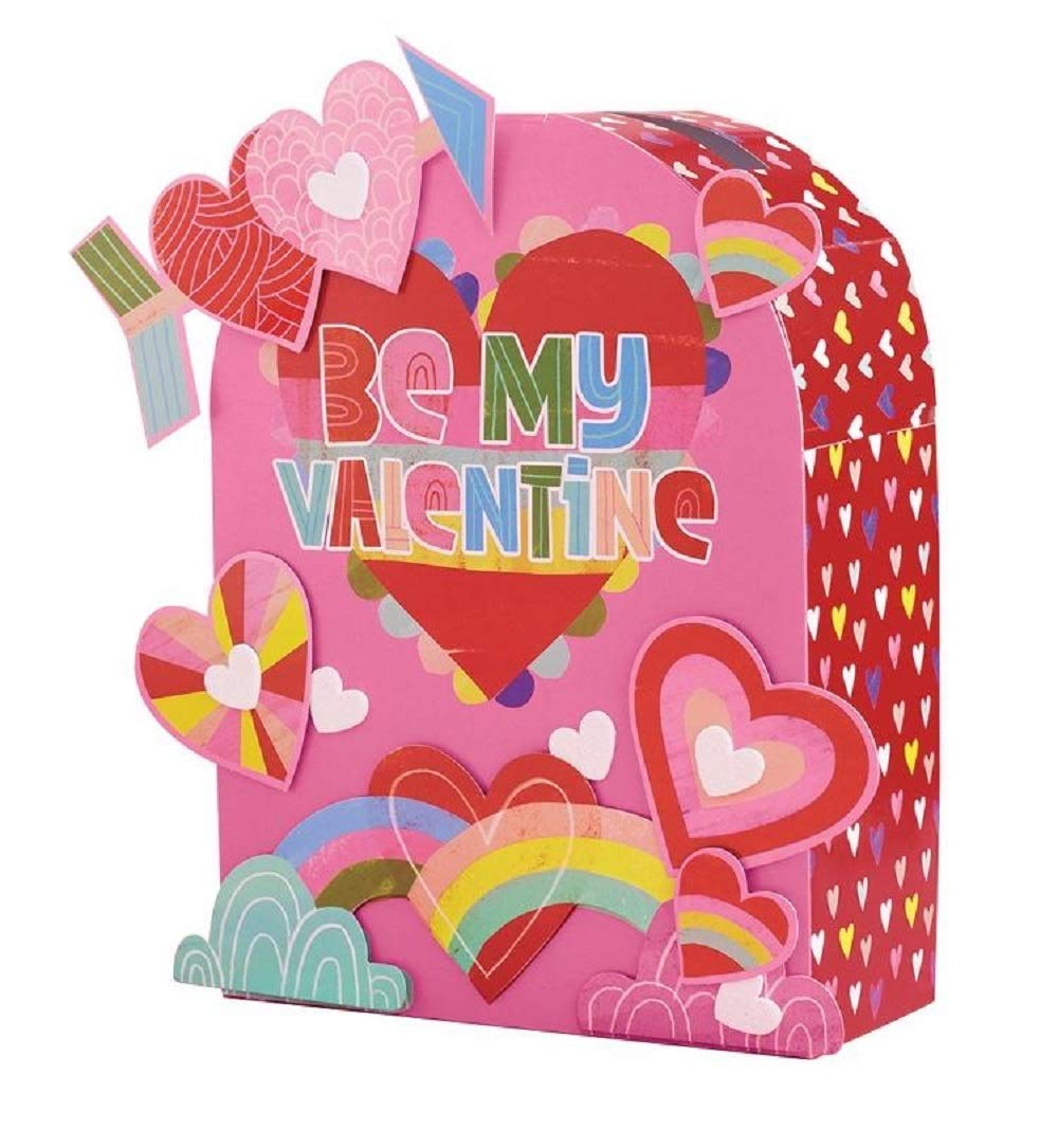 Kids DIY Activities Holiday Decor Girls and Boys Valentines Day Be My Valentine Mailbox Decorating Kit