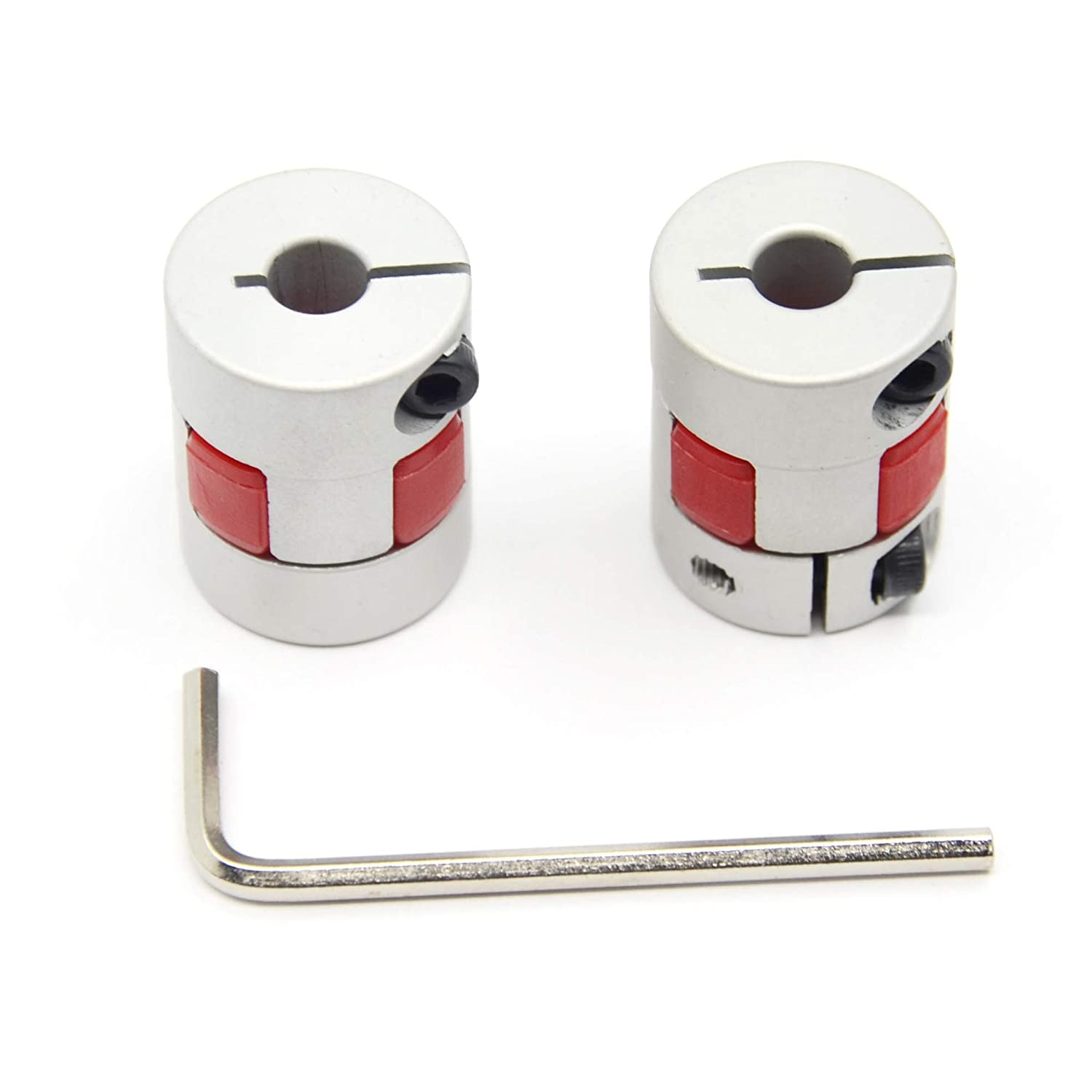 2 Cplg Size Pack of2 Jaw Coupling End Ring Fastener
