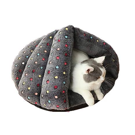 HEI SHOP Cama para Gatos y Perros, Arena para Gatos, casa para Gatos,
