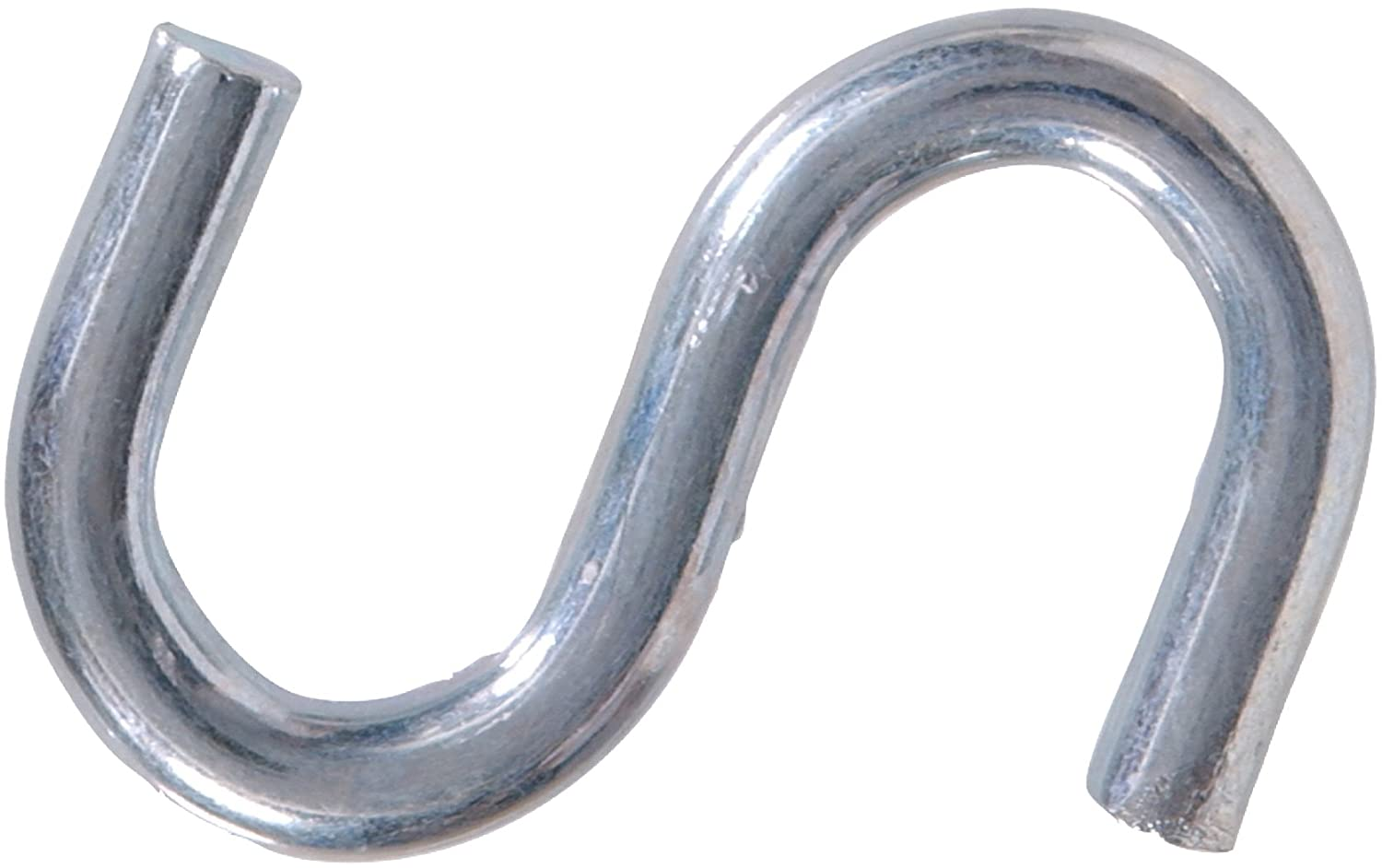 Hillman Hardware Essentials S Hook 1 1 2 Zinc Finish 20 Pack