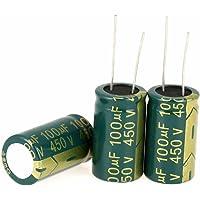 Condensadores electrolíticos 100uf-10000uf 16-450V Condensador radial Kit surtido
