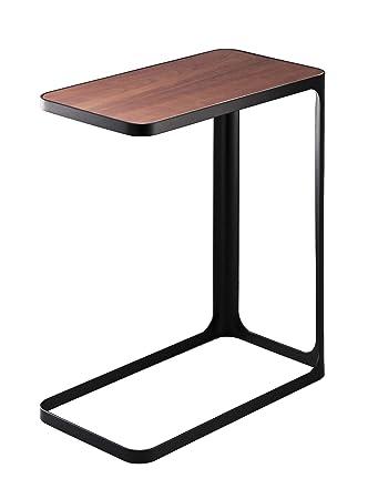 Gentil Amazon.com: YAMAZAKI Home Compact Tower Side Table, Black: Kitchen U0026 Dining