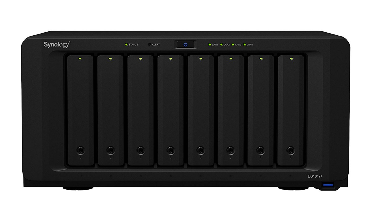 Synology DS1817+ (8GB) 8 - bay NAS Disk Station (Diskless) by Synology (Image #4)