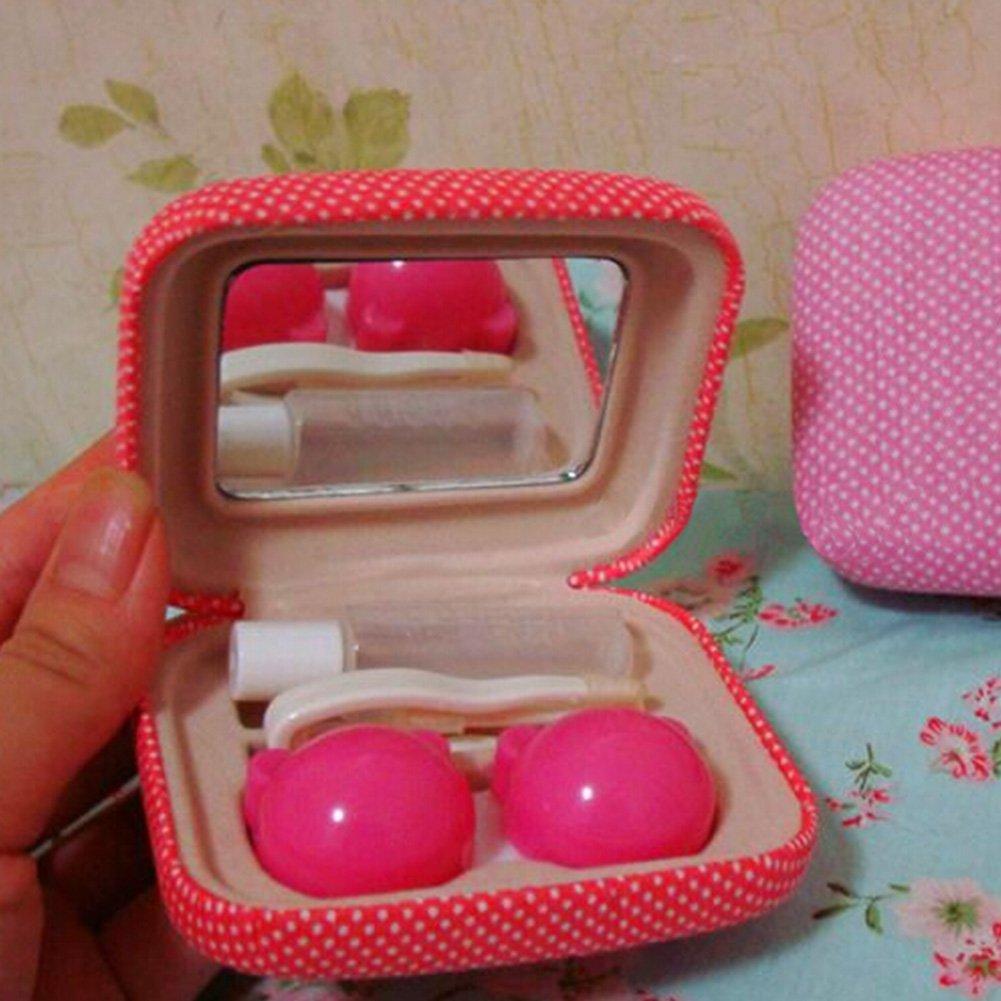 Korean Contact Lens Case Lenses Holder Travel Portable Len Glasses Box NO.03 by Kylin Express (Image #2)