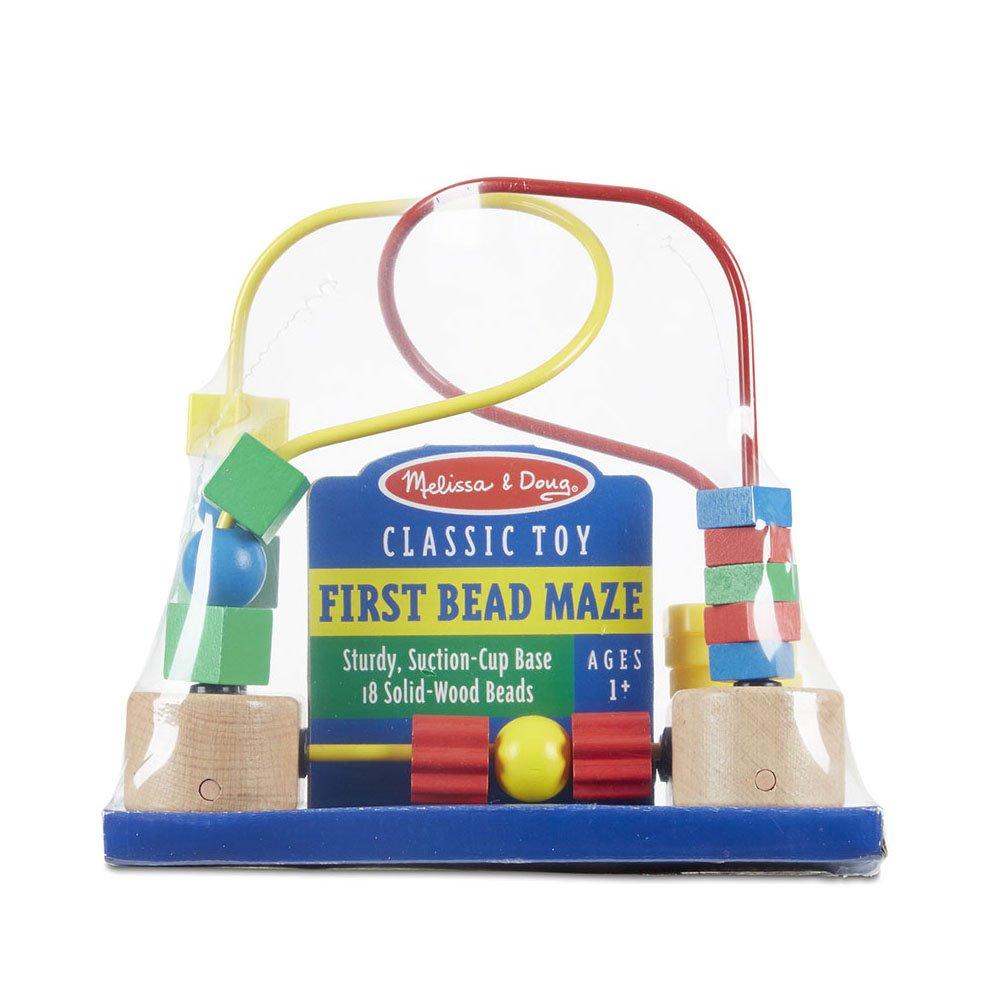 Melissa & Doug First Bead Maze - Wooden Educational Toy by Melissa & Doug (Image #4)