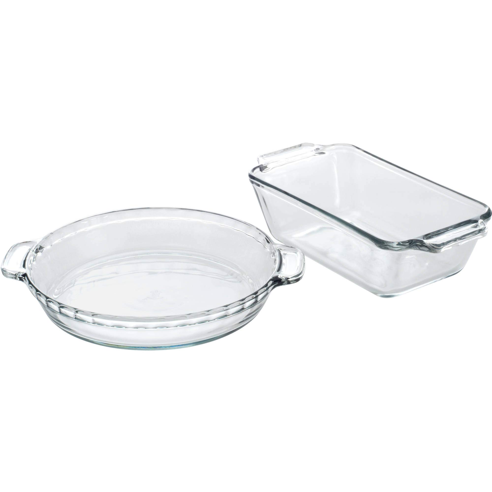 Anchor Hocking Glass Bakeware Set, Clear (11-Piece)