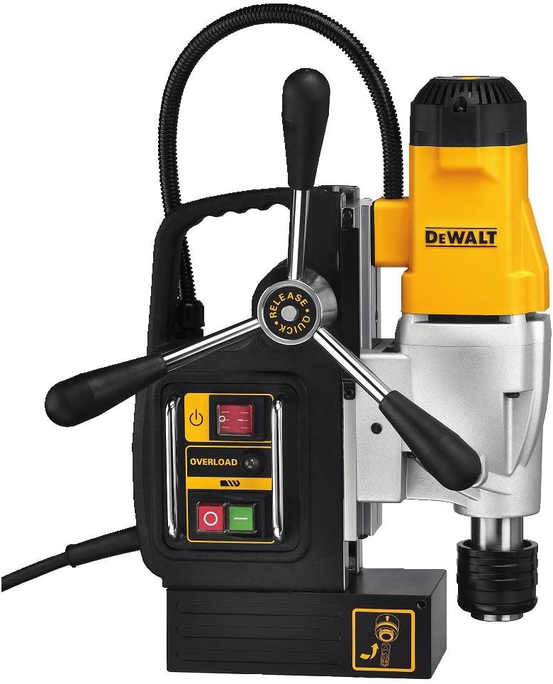 Best Magnetic Drill Press: DEWALT DWE1622K 2-Speed Magnetic Drill Press