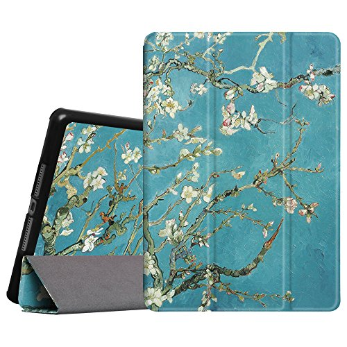 Fintie iPad Air Case- [SlimShell] Ultra Lightweight Stand Smart Protective Cover with Auto Sleep/Wake Feature for Apple iPad Air, Blossom
