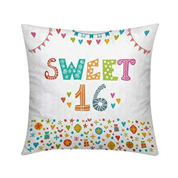 Amazon.com: RLDSESS - Fundas de almohada de felpa fina de ...