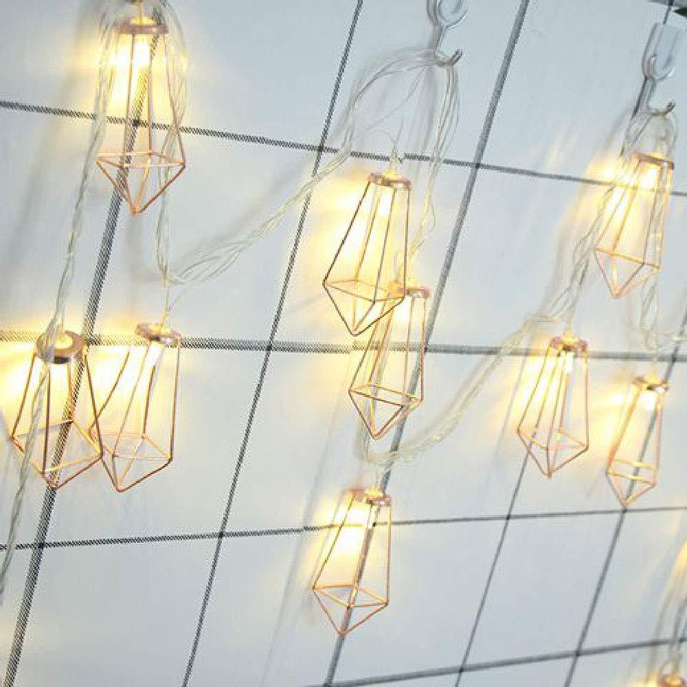 Warmwei/ß WANGXB LED Lichterkette,Weihnacht String Licht Wasserdicht,Stimmungslichter mit,f/ür Zimmer,Innen,Weihnachten,Au/ßen,Party,Hochzeit,usw