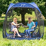 Fuss Free Set Up Anywhere Roomy TOUGH UV-Treated Polyester Fabric And Netting Viva Active 7.5' Pop Up Screen Room with Floor Lets You Spend More Time Outdoors Insect Free