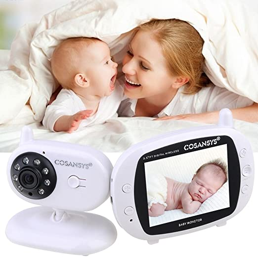 18 opinioni per COSANSYS Baby Monitor 2.4 GHz Wireless Video LCD Monitor con IR Visione Notturna