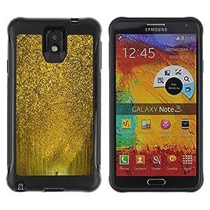 Suave TPU GEL Carcasa Funda Silicona Blando Estuche Caso de protección (para) Samsung Note 3 / CECELL Phone case / / Nature Yellow Alley /