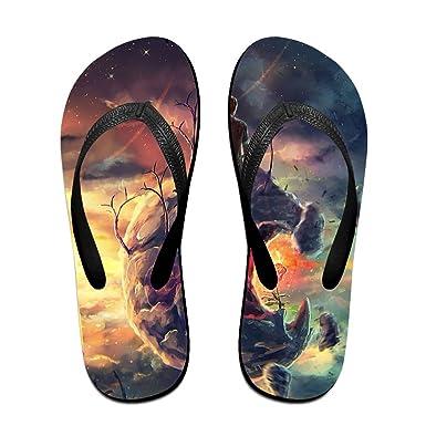 ef80fe220dd5 Flip Flops Fantasy Planet Slip On Pool Beach Sandal Light Weight Non-slip  Outdoor Water