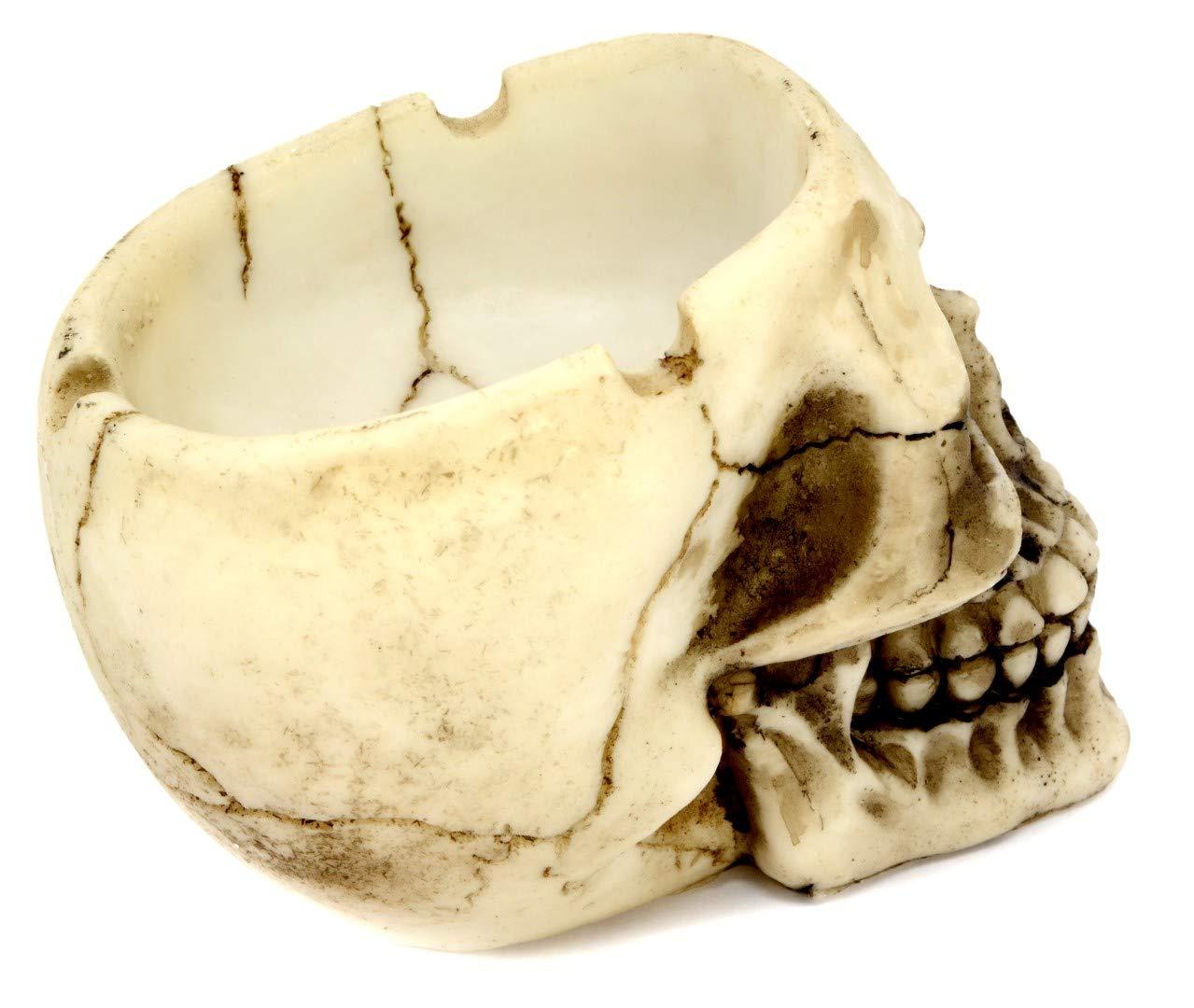 Aschenbecher Totenkopf 12 cm