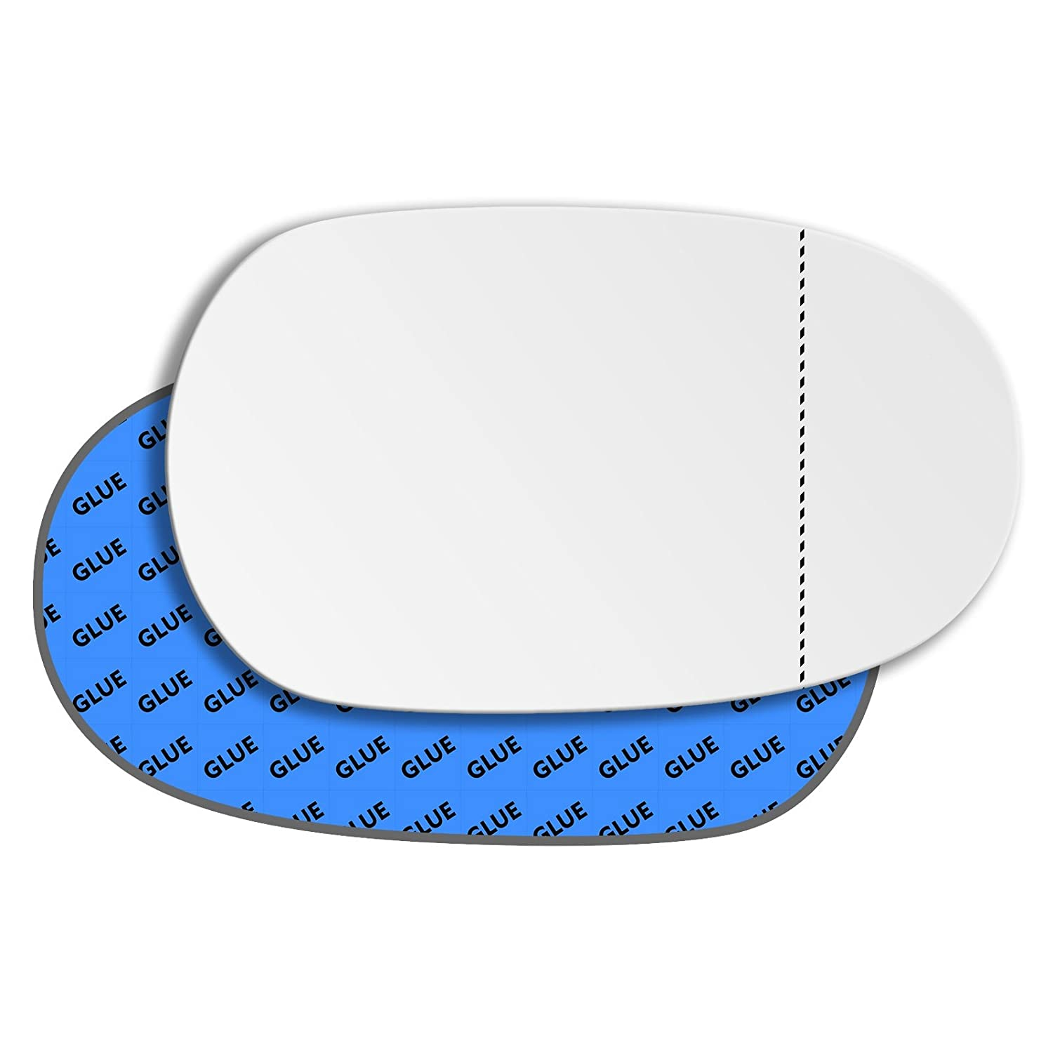 Hightecpl 371RAS Right Hand Driver Off Side Wide Angle Wing Mirror Glass Replacement Channel Autoparts Limited