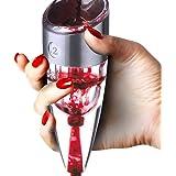 Snaideal Magic decanter per vino professionale Set regalo aeratore per vino rosso/bianco con supporto e sacchetto 6 velocità