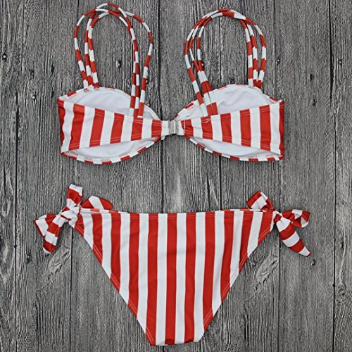 imbottito costume Reggiseno push costume set Donne benda stampa spiaggia brasiliano up up bikini donna set bagno Yanhoo Bikini costume push da Rosa bikini TqxaApwwWX