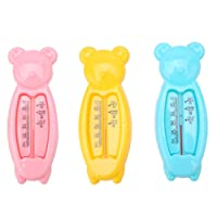 Yesiidor Baby Bath Thermometer Cute Cartoon Baby Bath Floating Duck Toy And Bath Tub Thermometer