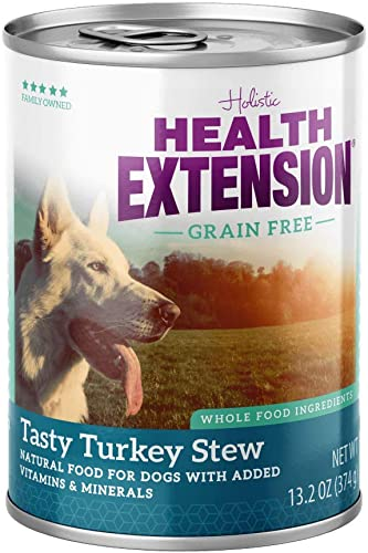 Health Extension Turkey Stew Grain Free Wet Dog Food 1 Pack , 12 13.2 Oz One Size