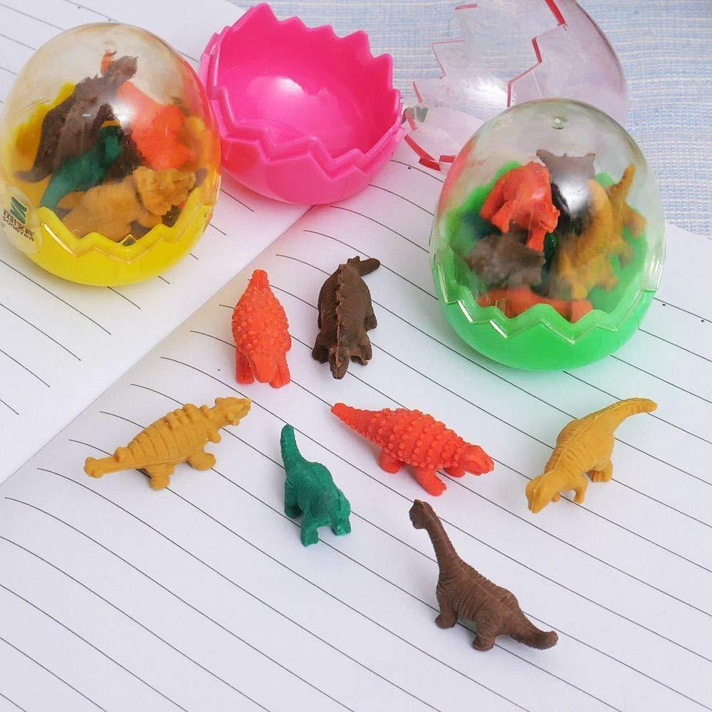 7pcs nuevo de la manera Mini lindo de Kawaii TPR Borrador Borrador dinosaurio Por Estudiante Escuela Para Ni/ños de Corea del regalo de papeler/ía