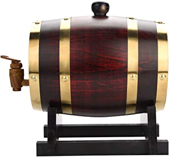 Barril de vino–Barrica Vintage Madera Roble Madera Barril de vino para cerveza Whisky Rum port, eichenfässern