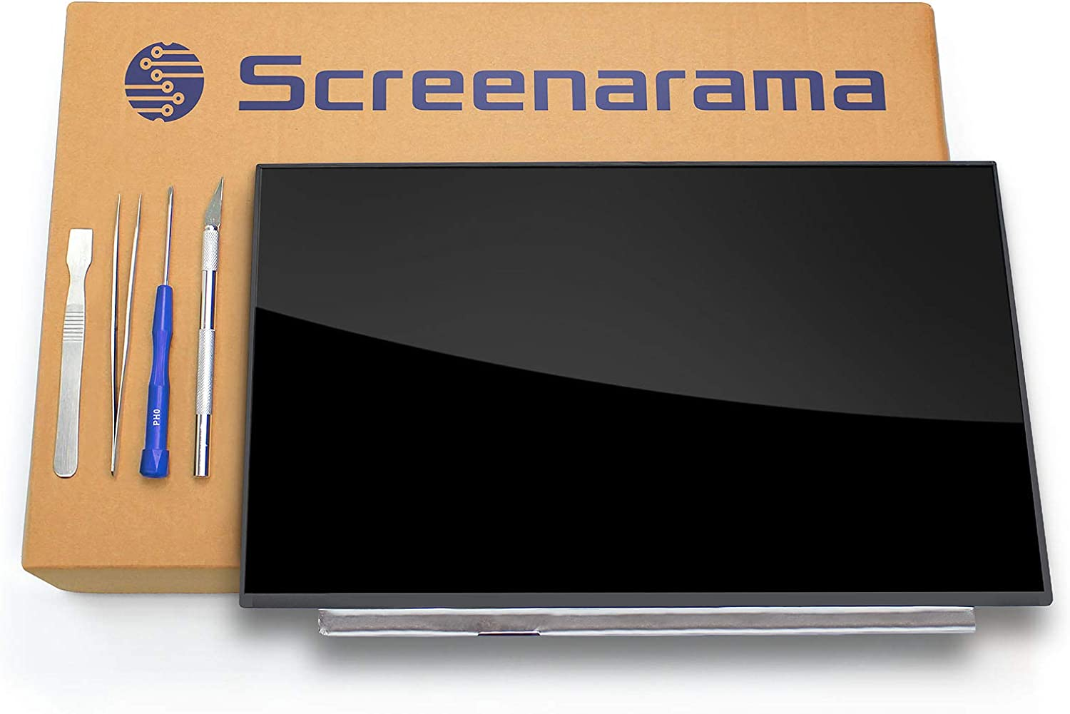 SCREENARAMA New Screen Replacement for HP Pavilion 15-CS0053CL (3TS79UA), HD 1366x768, OnCell Touch, LCD LED Display with Tools