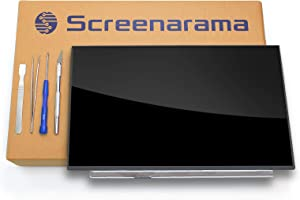 SCREENARAMA New Screen Replacement for HP 15-DY0013DX 7FU54UA, HD 1366x768, OnCell Touch, LCD LED Display with Tools