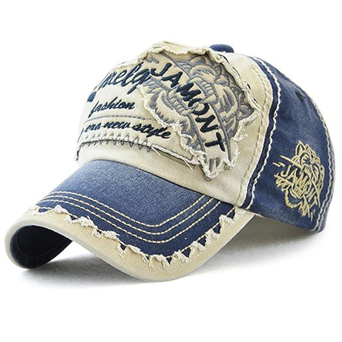 Gorra de béisbol Unisex ajustable Hat Tioamy Retro Baseball Cap ...