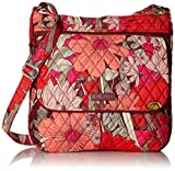 Vera Bradley Double Zip Mailbag, Signature Cotton