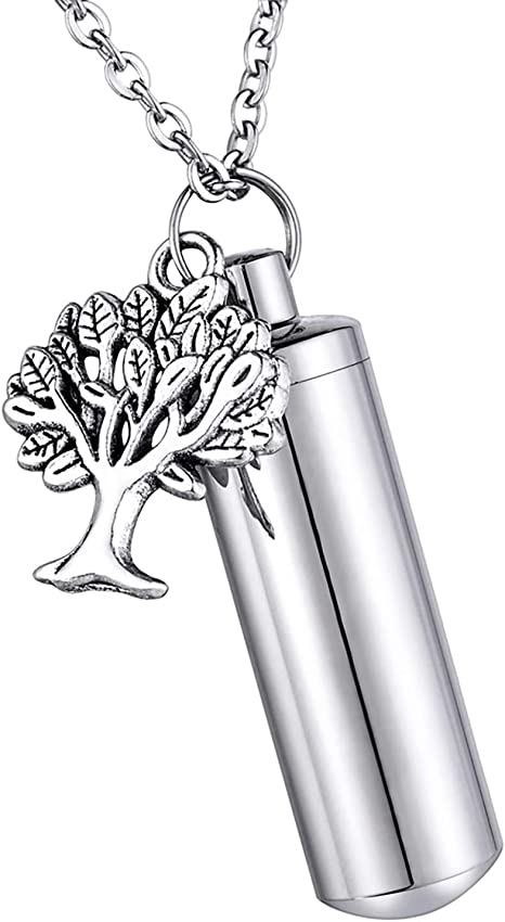 Tree of Life Keychain Dark Color Ethnic