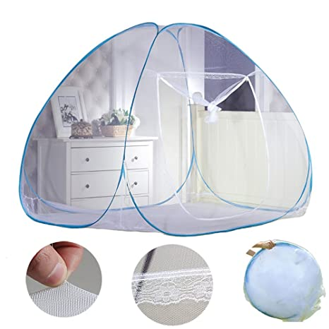 NICE PURCHASE New Portable Folding Mosquito Net Tent Freestand Bed 1 or 2 Openings (1.0  sc 1 st  Amazon.com & Amazon.com: New Portable Folding Mosquito Net Tent Freestand Bed 1 ...