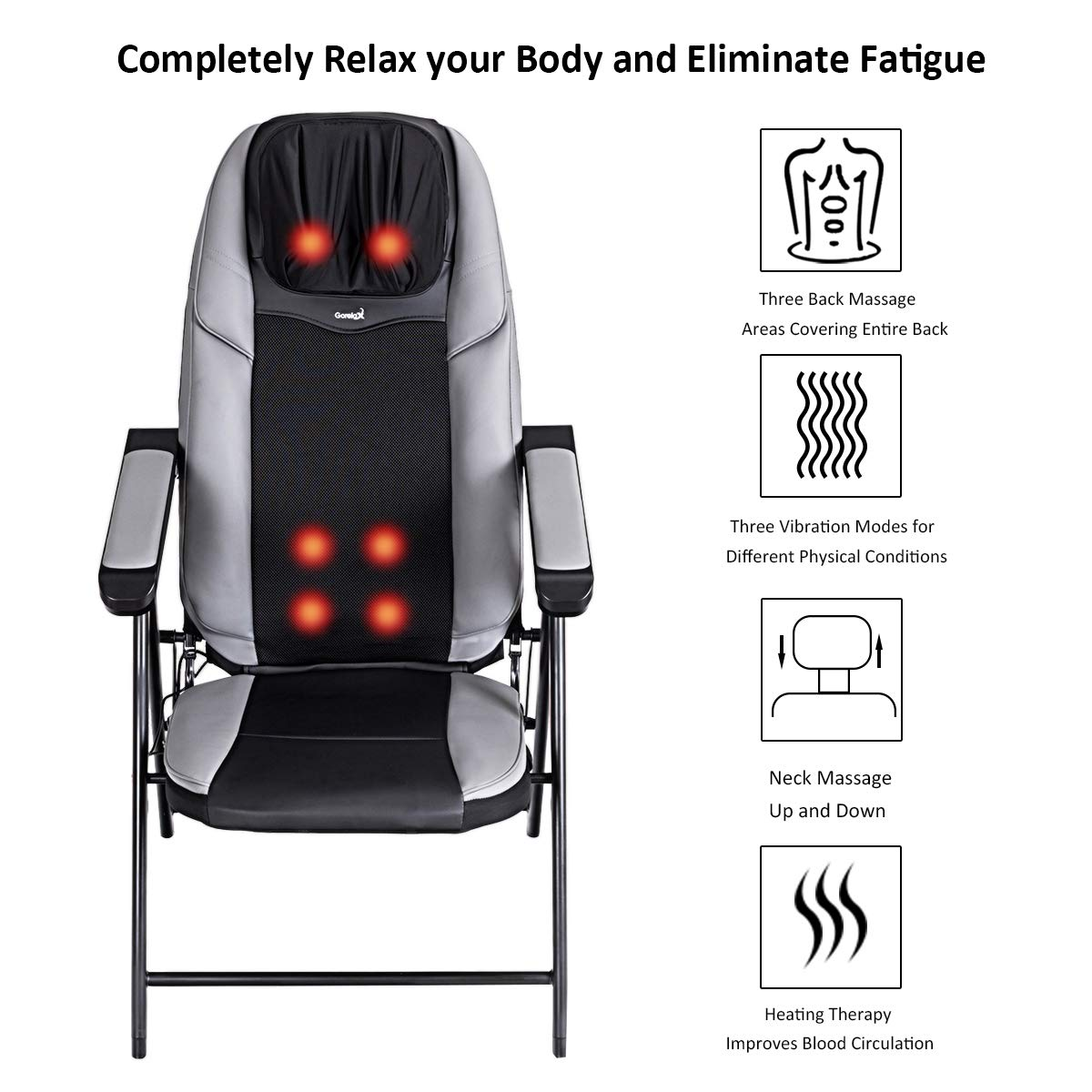 Amazon.com: Giantex - Sillón masajeador portátil para el ...
