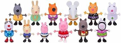 Peppa Pig Fancy Dress Party Exclusive Figure 12-Pack: Amazon.es: Juguetes y juegos