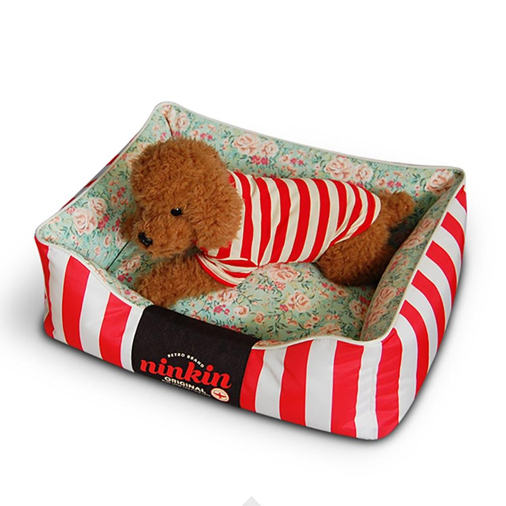 Red 6080cm red 6080cm DIAMO Pet Bed,Removable & Washable Cover with Zippers,for Cats and Dogs