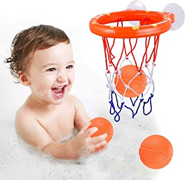 Bath Toy Fun Basketball Hoop & Balls Set