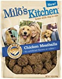Milo's Kitchen Chicken Meatballs, 18-Ounce (Pack of 4)